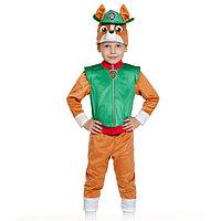 Карнавальный костюм 'Трекер', куртка, бриджи, маска, р. 28-30, рост 104-110 см