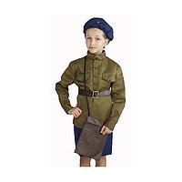 Костюм военного 'Лётчица', 5-7 лет, рост 122-134 см