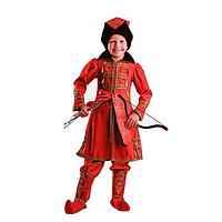 Карнавальный костюм 'Иван Царевич', (бархат и парча), размер 30, рост 116 см