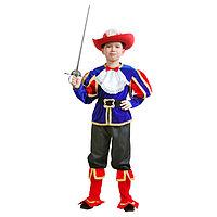 Карнавальный костюм 'Кот в сапогах', куртка, шляпа, сапоги, р. 36, рост 134-140 см
