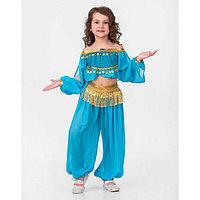 Карнавальный костюм 'Принцесса Востока', текстиль, блуза, брюки, р.32, рост 122см