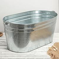 Ванна оцинкованая хозяйственная, 80 л, ГОСТ