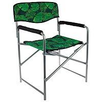 Кресло складное КС3, 49 х 55 х 82 см, тропические листья (комплект из 2 шт.)