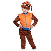 Карнавальный костюм 'Зума', куртка, бриджи, маска, р. 28-30, рост 104-110 см