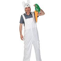 Карнавальный костюм 'Заяц', полукомбинезон, маска, р. 48-54 (M-L), рост 176-182 см