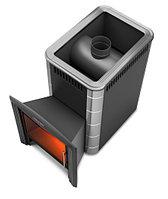 Дровяная банная печь Ангара 2012 Inox. Объем куб.м.:8-18.
