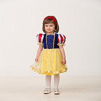 Карнавальный костюм 'Принцесса Белоснежка', текстиль, размер 24, рост 86 см