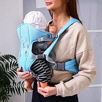 Рюкзак-кенгуру для малыша 'Перья', от 3 до 10 кг