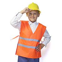Карнавальный костюм 'Строитель', 5-7 лет, рост 122-134 см