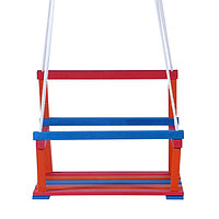 Качели детские подвесные, деревянные, сиденье 28x34,5см