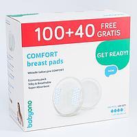 Набор вкладышей для груди Comfort, 100 шт. + 40 шт. в подарок