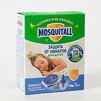 Комплект Mosquitall 'Нежная защита для детей', электрофумигатор + жидкость от комаров, 30 но