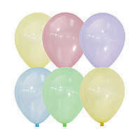 Шар латексный 12' Bubble, кристалл, набор 100 шт., МИКС