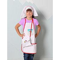 Костюм детский 'Медсестра', фартук, головной убор, сумка