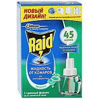 Жидкость для фумигатора от комаров Raid 'Эвкалипт', 45 ночей