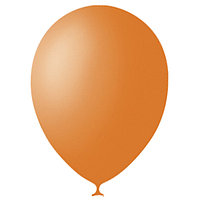 Шар латексный 12', пастель, набор 100 шт., цвет оранжевый