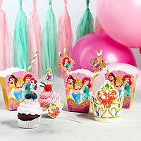 Набор для оформления праздника 'Для принцессы', Принцессы, 45 предметов