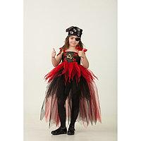 Карнавальный костюм 'Пиратка', сделай сам, корсет, ленты, брошки, аксессуары