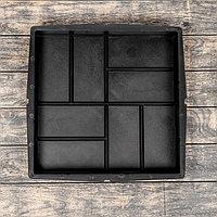 Форма для тротуарной плитки 'Плита. 8 кирпичей', 40 x 40 x 5 см, Ф13004, 1 шт. (комплект из 4 шт.)