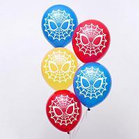 Воздушные шары 'Spider-man', Человек-паук, 12 дюйм (набор 50 шт)