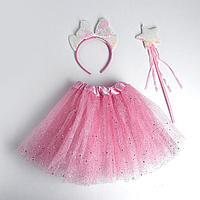 Карнавальный набор 'Ушки', ободок, жезл, юбка