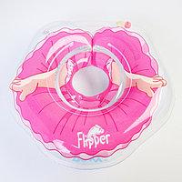 Надувной круг на шею для купания малышей Flipper, 'Балерина'