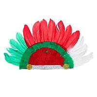 Карнавальный головной убор 'Индеец'