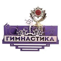 Медальница с полкой 'Гимнастика'