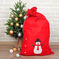 Мешок Деда Мороза 'Снеговик'