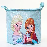 Корзина для игрушек 'Анна и Эльза' Холодное сердце , 33*33*31 см