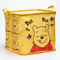 Корзина для игрушек, Медвежонок Винни и его друзья, 33 x 33 x 31 см