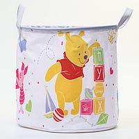 Корзина для игрушек 'ПУХ' Медвежонок винни и его друзья , 33*33*31 см