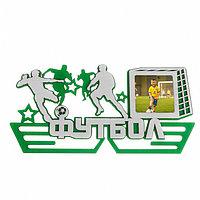Медальница двухслойная 'Футбол'