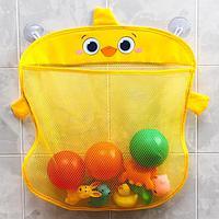 Сетка для хранения игрушек на присосках 'Утёнок'