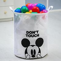 Корзина текстильная 'Don't touch' Микки Маус, 45*35*35 см