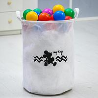 Корзина текстильная 'My toys' Микки Маус, 45*35*35 см