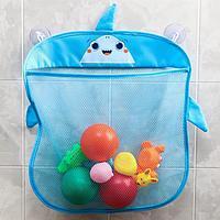 Сетка для хранения игрушек на присосках 'Акула'