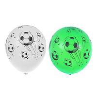 Шар латексный 14' 'Футбольный мяч', шелкография, пастель, набор 25 шт., цвета МИКС