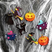 Карнавальный набор 'Ведьма',паутина, декор