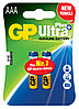Батарейки LR03 AАA 2 шт GP Batteries Ultra Plus alkaline