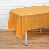 Скатерть 'Праздничный стол', 137х183 см, цвет оранжевый