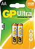 Батарейки LR6 AA 2 шт GP Batteries Ultra alkaline