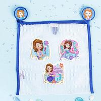 Сетка для хранения игрушек 'Самая милая' София Прекрасная +набор объемных наклеек