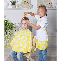 Костюм детский 'Парикмахер', фартук, накидка, цвета МИКС