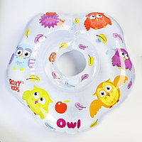 Надувной круг на шею для купания малышей Owl, 'Птички'