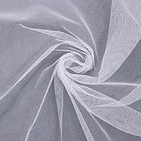 Фатин, 150 х 150, см, цвет белый