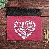Мешок для хранения овощей 'Сердце'