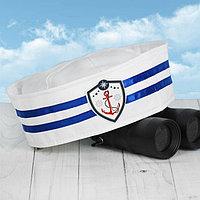 Шляпа юнги 'Дальнее плаванье', взрослая, р-р 56-58