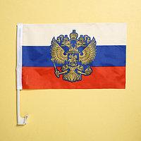 Флаг автомобильный 'Россия', 2 шт