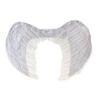 Крылья ангела, 40x35 см, на резинке, цвет белый